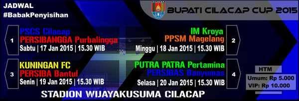 Bupaati Cilacap Cup