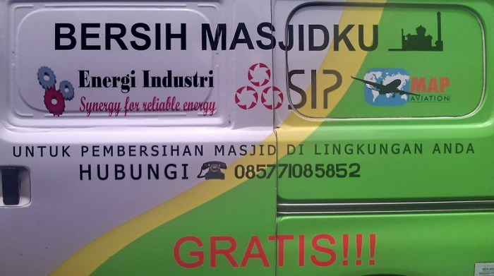 Bersih Masjid Gratis 07