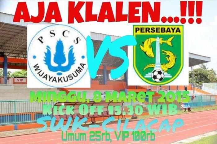 PSCS vs Persebaya