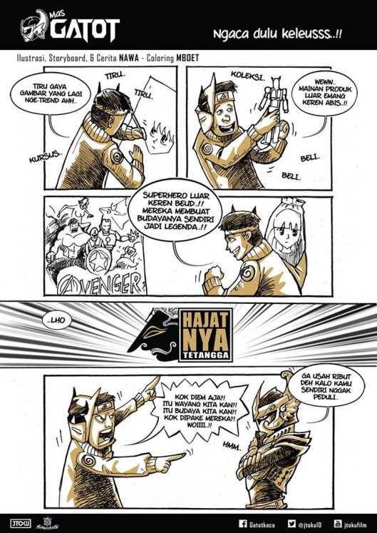 komik tentang wayang