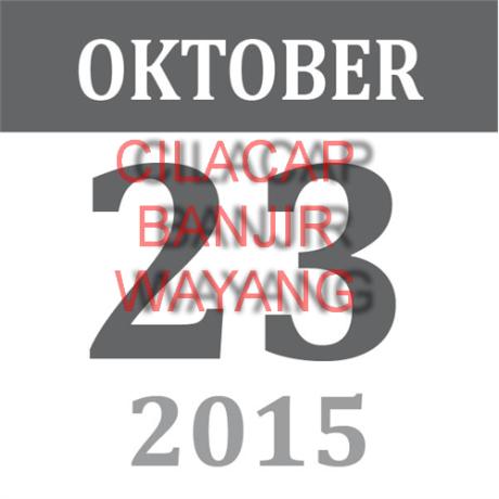 23 oktober 2015 cilacap