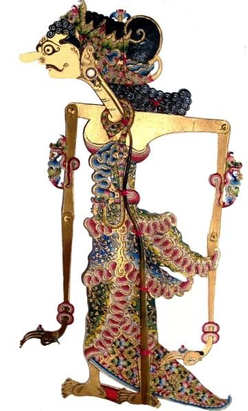 Wayang wadon rai telengan