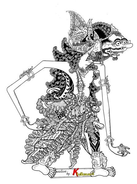 Sabrangan Dalang Jono Derivat