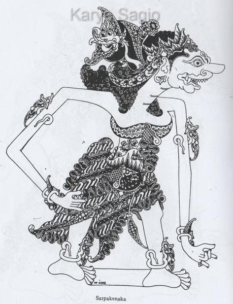 Sarpakenaka - Sagio